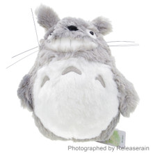 Sun Arrow Studio Ghibli My Neighbor Totoro Laughter Grey 25cm Height S Size Fluffy Stuffed Plush Doll Japan Import