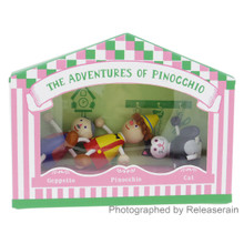 Detoa Lesni Fairy-tales Miniature Wooden Dolls The Adventures of Pinocchio