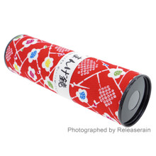 Traditional Japanese Cultural Classic Toy Kaleidoscope Mangekyou Blossom Flowers Made in Japan