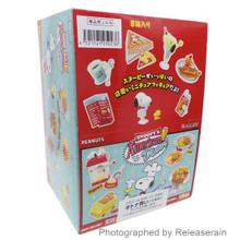 Re-Ment Peanuts Snoopy's American Diner Miniatures Full Set of 8pcs Japan Import