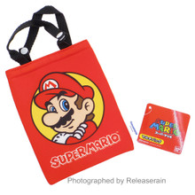 Hasepro Super Mario Red Multi-Purpose Mini Bag Pouch Japan Import
