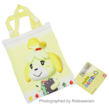 Hasepro Shizue Isabelle Animal Crossing New Leaf Yellow Multi-Purpose Mini Bag Pouch Japan Import