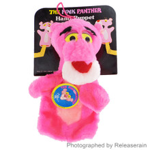 Mighty Star 24K Co 1991 United Artists Vintage Toy The Pink Panther Hand Puppet