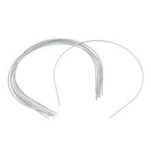 DIY Supplies Wire Metal Blank Silver Headband 10pcs For Yo-SD Size BJD Dolls 6-7inch Head Circumference