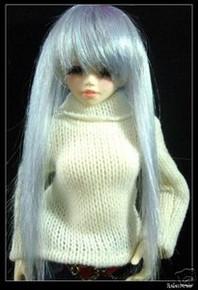 Unoa Yo-SD Dollfie Ocean Long Straight 6-7 Wig #6111
