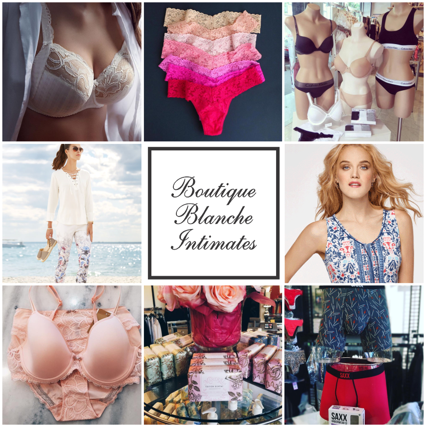 Boutique Blanche Intimates Brands We Carry