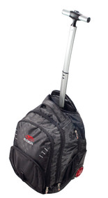 EDEA Skate Rolling/BackPack Trolley Bag (Black)