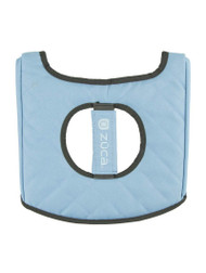 Zuca Seat Cover - Grey & Light Blue