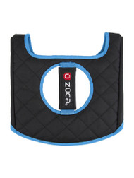Zuca Seat Cover - Blue & Black