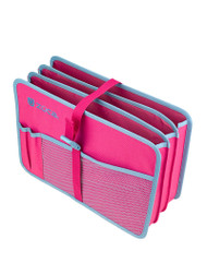 Zuca Document Organizer - Pink / Blue