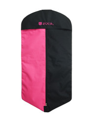 Zuca Garment Bag - Pink / Black