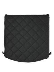 Zuca Padded Seat Cushion, Black