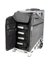 Zuca Artist Pro Bag - Graphite Grey Insert And Silver Frame