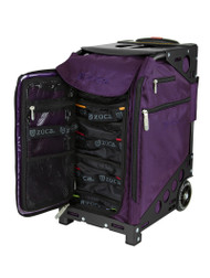 Zuca Pro Travel Bag - Purple Insert And Black Frame