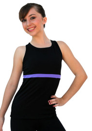 ChloeNoel T02 Racer Back Fitted Top