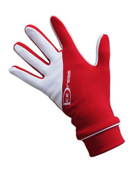 "IceDress - Thermal Figure Skating Gloves ""IceDress-Sport"" (Red and White)"