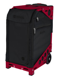 Zuca Artist Pro Bag - Oxford with Candy Red Frame