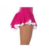 Jerry's 305 Double Georgette Skirts -  Fuchsia/White