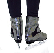 Sk8Wraps - Insulated Skate Boot Covers - Silver Streak