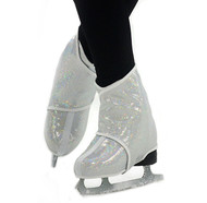 Sk8Wraps - Insulated Skate Boot Covers - White Hologram