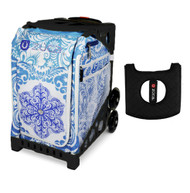 Zuca Sport Bag - Ice Garden (Limited Edition) with Gift  Black/Pink Seat Cover (Pink Frame)