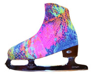 """Neon Lights "" Ice Skating Boot Covers"