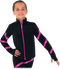 Chloe Noel JS106P Elite Polartec Spiral Fleece Figure Skating Jacket with Crystals 3rd view