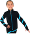 Chloe Noel JS106P Elite Polartec Spiral Fleece Figure Skating Jacket with Crystals 2nd view