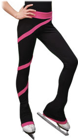 Chloe Noel PS106P Elite Polartec Spiral Fleece Figure Skating Pants