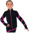 Chloe Noel JS106P Elite Polartec Spiral Fleece Figure Skating Jacket 2nd view