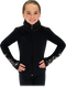 Chloe Noel JS883P Contract Elite Polartec Spiral Fleece Figure Skating Jacket with Crystals 2nd view