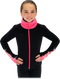 Chloe Noel JS883P Contract Elite Polartec Spiral Fleece Figure Skating Jacket with Crystals 5th view