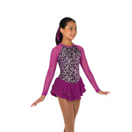 Jerry's Ice Skating Dress   - 10 Swirl On  - Deep Orchid