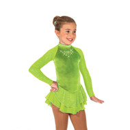 Jerry's Ice Skating Dress   - 19 Starshine  -Lime Green