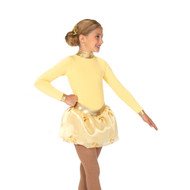 Jerry's Ice Skating Dress   - 22 Soft Gold Fleece