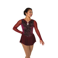 Jerry's Ice Skating Dress   - 100 Bordeaux Ballet
