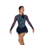 Jerry's Ice Skating Dress   - 105 Navy Nobility