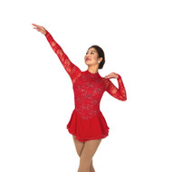 Jerry's Ice Skating Dress   - 106 Fifth Avenue  - Ruby Red