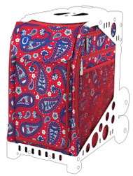 Zuca Sport Insert - Paisley in Red