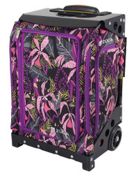 Zuca Travel Bag - Navigator Carry-On Wild Orchid with Black Frame