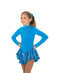 Jerry's Ice Skating  Dress - 158 Finest Fleece Dress - Turquoise