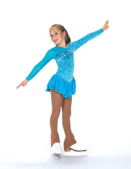 Jerry's Ice Skating  Dress - 159 Cerulean Blue Dress