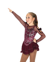 Jerry's Ice Skating  Dress - 166 Infinite Charm Dress – Bordeaux