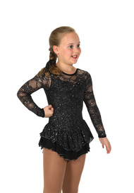 Jerry's Ice Skating  Dress - 193 Love & Lace Dress - Jet Black