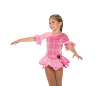 Jerry's Ice Skating  Dress - 208 Hibiscus Whirl Dress