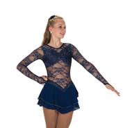 Jerry's Ice Skating  Dress - 210 Calais Dress – Navy Blue