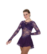 Jerry's Ice Skating  Dress - 210 Calais Dress – Deep Purple