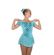 Jerry's Ice Skating  Dress - 213 Gemology Dress - Aquamarine