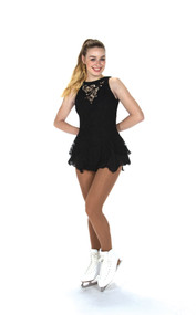 Jerry's Ice Skating  Dress - 219 Champagne Sequins Dress - Black
