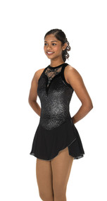 Jerry's Ice Skating  Dress - 221 Lace Drop Dress - Black